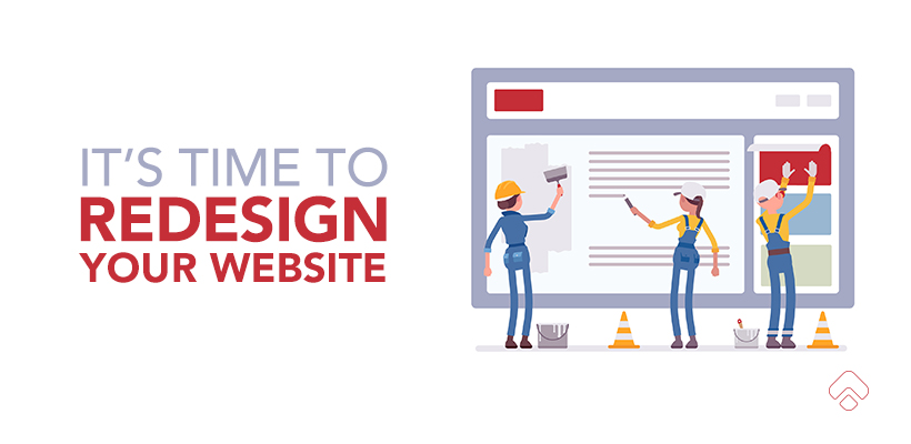 The tell-tale signs it's time to redesign your website