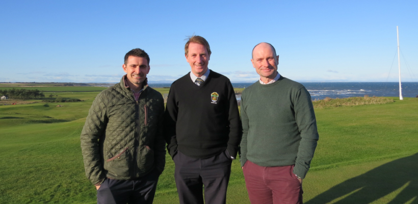 On Course to Deliver New Website for Crail Golfing Society