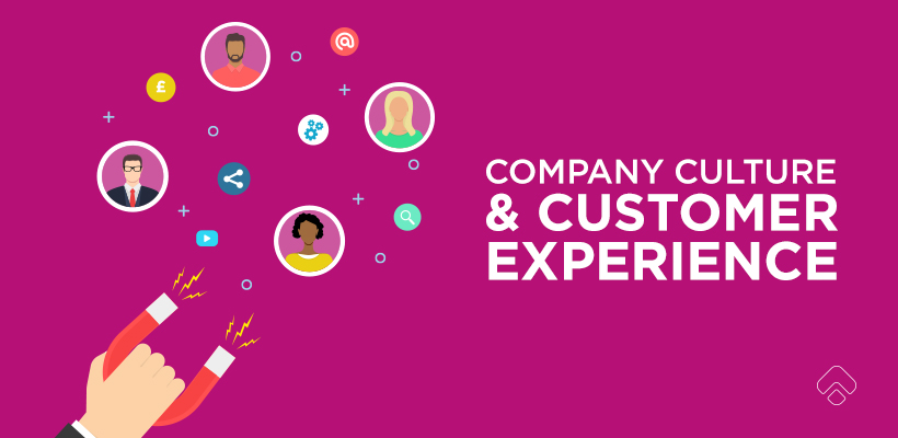 Company culture and customer experience; the key to an effective website