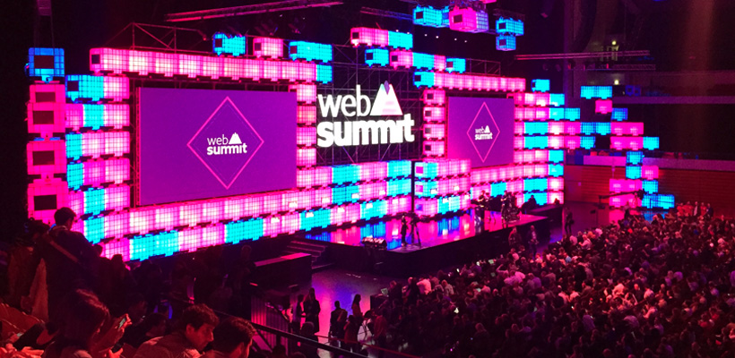 Websummit 2016 - three questions answered